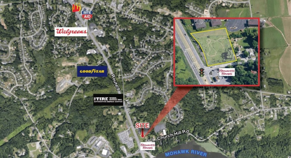 Church Hill Rd Retail Map